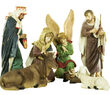 Christmas Nativity Scene Figures, 11 Piece Set