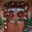 "24"" Sequoia Fir Commercial Unlit Wreath"