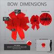 "24"" Red Puff Velvet 9-Loop Indoor Christmas Bow"