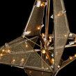 Dimensional Nativity Star Treetopper