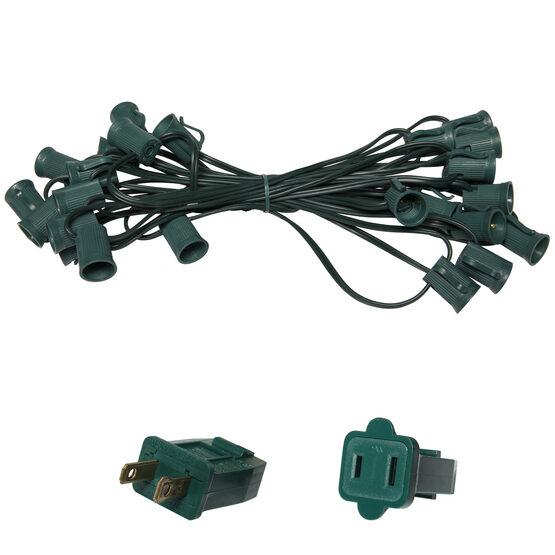 E17 - Intermediate Light Stringer, Green Wire