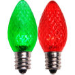 C7 Color Change Acrylic Red Green LED Bulbs
