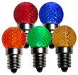 G20 Acrylic Multicolor LED Globe Light Bulbs