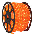Fluorescent Orange Rope Light, 120 Volt