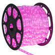 Pink LED Rope Light, 120 Volt