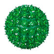 "6"" Green Starlight Sphere, 50 Lights"