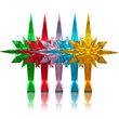 GKI/Bethlehem LED Color Changing Tree Topper