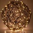 20' Warm White LED Fairy Light String