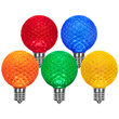 G50 Multicolor OptiCore TM LED Globe Light Bulbs, E17 - Intermediate Base