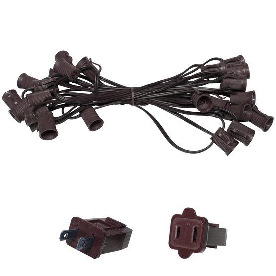 E17 - Intermediate Light Stringer, Brown Wire