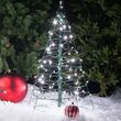 3' Lighted Cool White LED Outdoor Christmas Tree