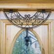 Decorative Wreath Hanger, Deco Holly, Antique Metal, Adjustable