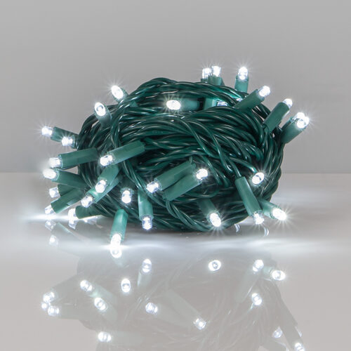 kringle traditions 5mm cool white led christmas lights green wire 6 spacing