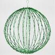 Green LED Light Ball, Fold Flat Green Frame