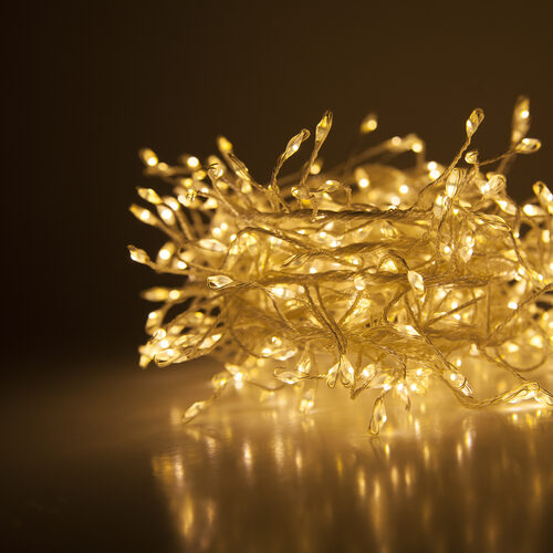 warm white led fairy lights silver wire