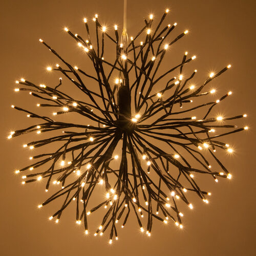 Brown Starburst Lighted Branches Warm White Led Le