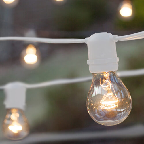 Commercial Clear Patio String Lights