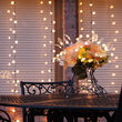 Silver Starburst Lighted Branches with Leaves, Warm White LED