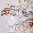 """24"""" White Starburst Lighted Branches, Cool White LED, Twinkle"""