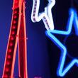 RGB Flexible Neon Hanging Star Light, Multifunction, LED