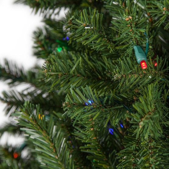 Slender Douglas Fir Prelit Tree