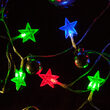 Red-Green-Blue Battery Operated Star Light LED Lights