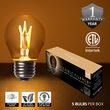 G45 Antiqued Glass Warm White FlexFilament TM Globe Light LED Edison Bulbs