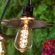 ST64 Glass Warm White FlexFilament LED Edison Bulbs