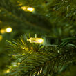 Balsam Fir Prelit LED Holiday Garland, Warm White Lights