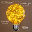 G80 Gold LEDimagine TM Fairy Light Bulbs