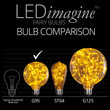 G95 Gold LEDimagine TM Fairy Light Bulbs