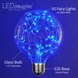 G95 Blue LEDimagine TM Fairy Light Bulbs