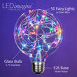G95 Color Change RGB LEDimagine TM Fairy Light Bulbs