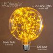 G125 Gold LEDimagine TM Fairy Light Bulbs