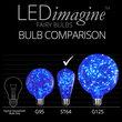 ST64 Blue LEDimagine TM Fairy Light Bulbs