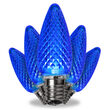 C9 Blue Kringle Traditions LED Bulbs