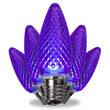C9 Purple Kringle Traditions LED Bulbs