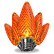 C9 Amber Kringle Traditions LED Bulbs