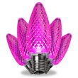 C9 Pink Kringle Traditions LED Bulbs