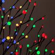 Brown Lighted Ornamental Tree, Multicolor LED