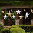 Gold Polymesh Unlit Fold Flat Commercial Star