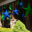 Green Polymesh Unlit Fold Flat Commercial Star