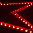 Ultra Bright SMD 5 Point Star Light, Red Lights