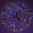 "24"" Silver Starburst Lighted Branches, Multicolor LED"