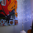 3' Silver Fairy Light Tree, Cool White LED