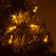 T5 Gold LED Christmas Tree Lights on Green Wire