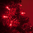 T5 Red LED Christmas Tree Lights on Green Wire