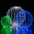 Cool White LED, Commercial Mega Sphere Light Ball, Fold Flat