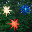 Red LED Moravian Star