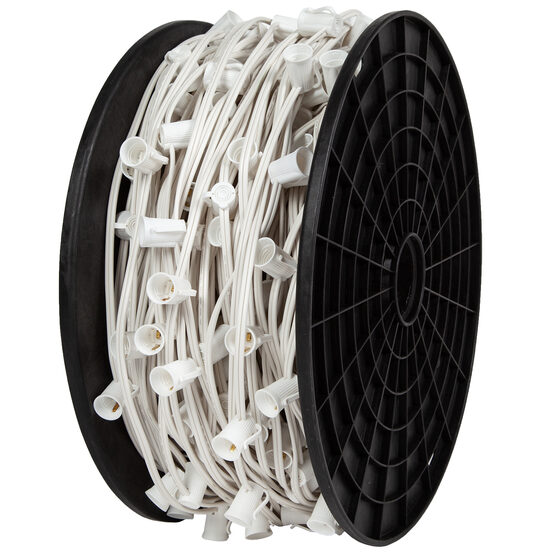 E17 - Intermediate Light Spool, White Wire